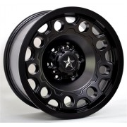 82027 WHEELS HOLESHOT BLACK:18x9.0 INCH 6X114'3 ET-12 OFFSET